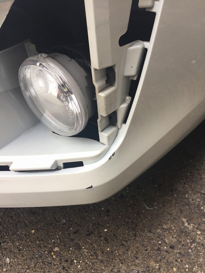 スバル インプレッサ GJ7 キズへこみ鈑金塗装修理