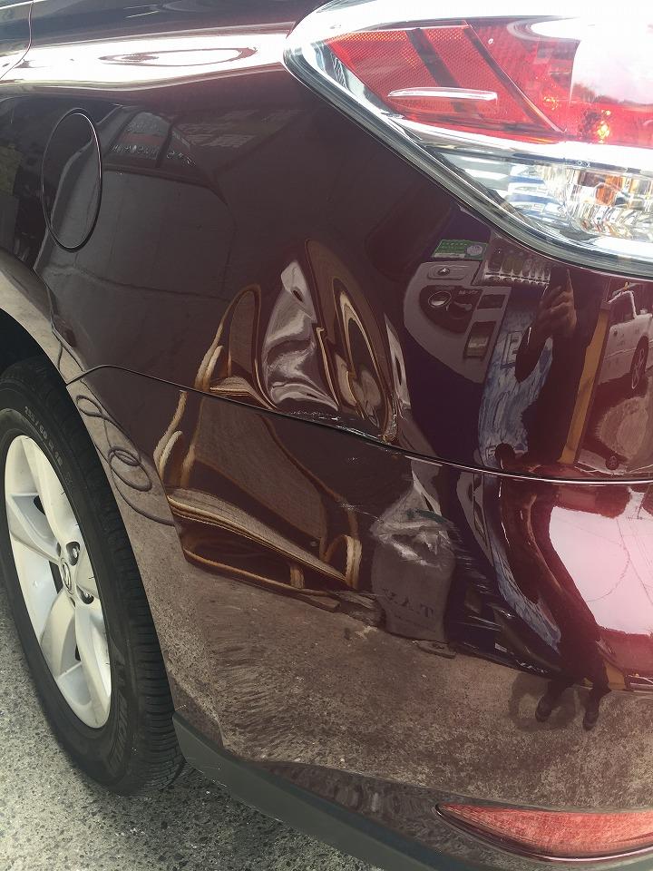 レクサス RX270 AGL10W キズへこみ 板金塗装修理
