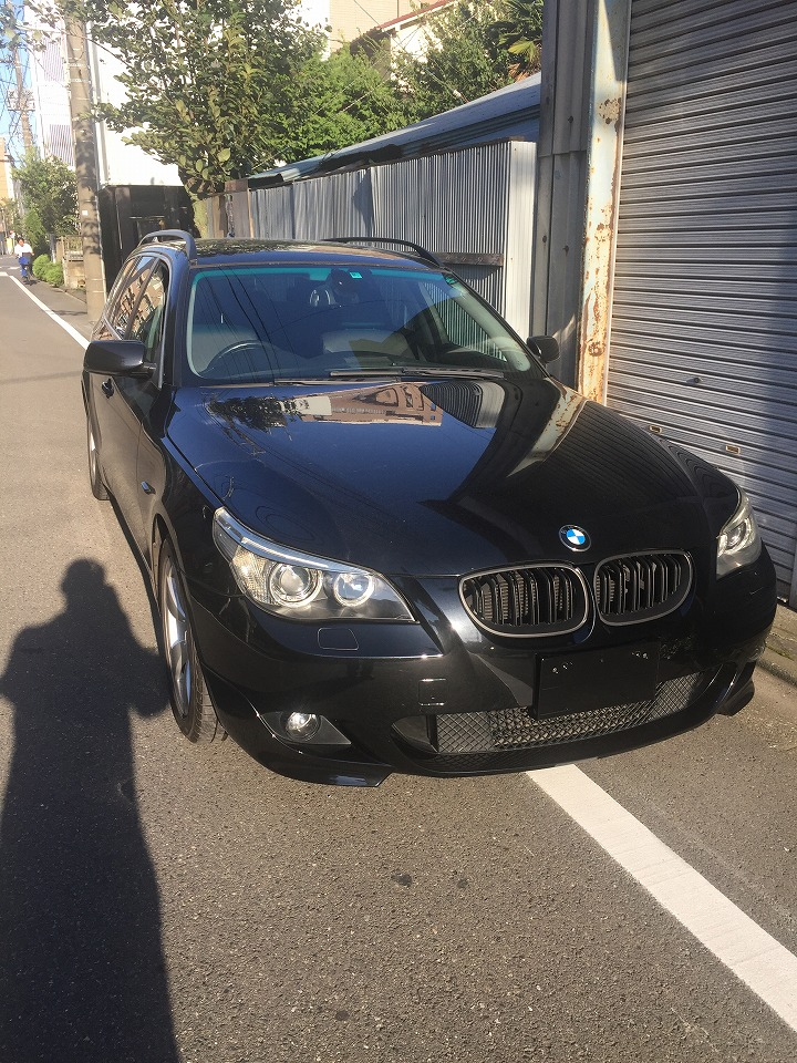 BMW E91 5シリーズ フロントバンパーMスポーツ化