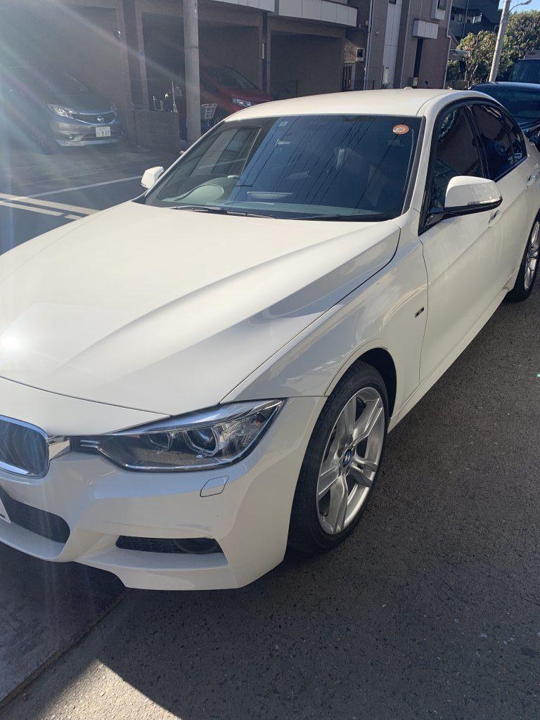 BMW F30 3シリーズ ブレーキパッド 交換