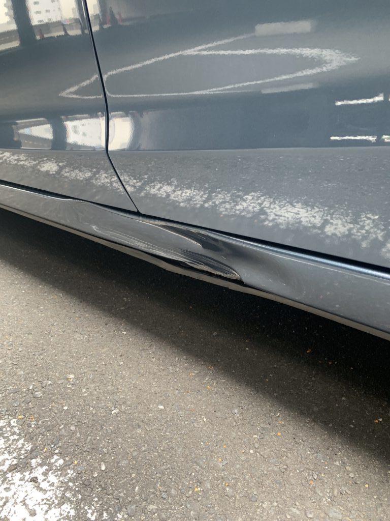 マツダ アテンザ GJ2FP キズへこみ 板金塗装修理
