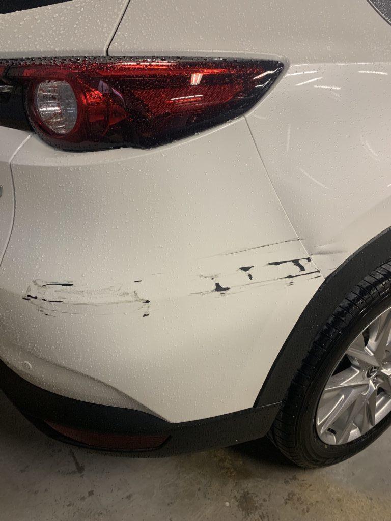 マツダ CX-5 KG2P キズへこみ 板金塗装修理