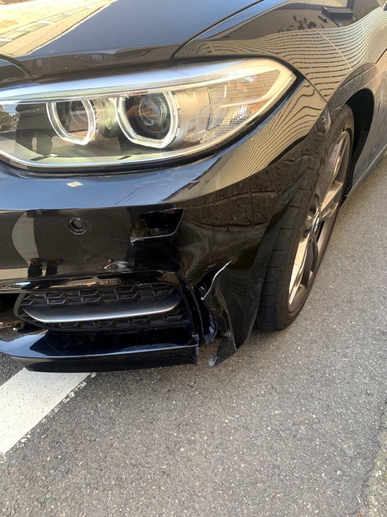 BMW M235i F22 キズへこみ 板金塗装修理