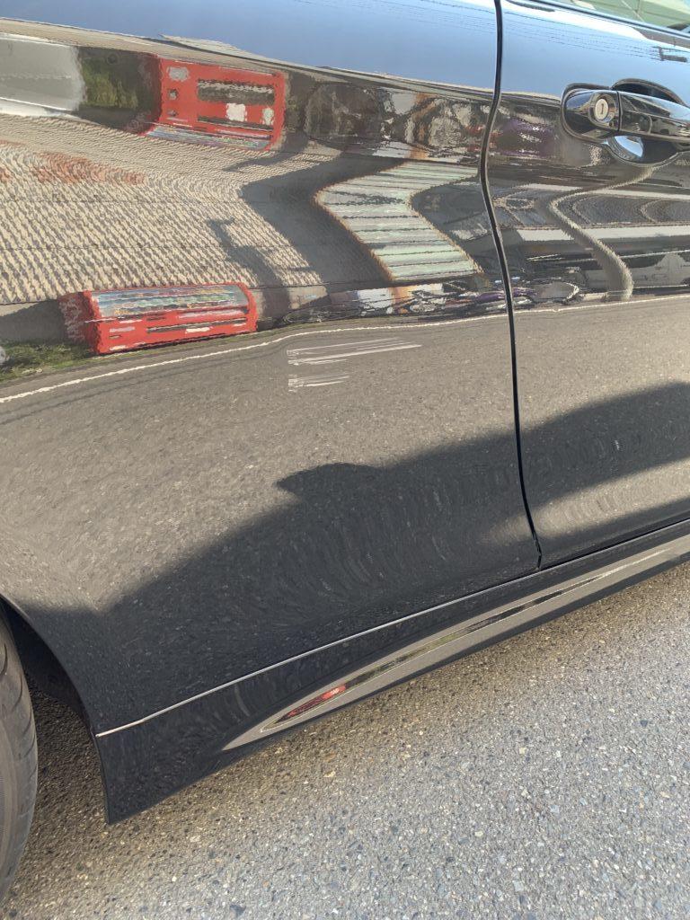 BMW 4シリーズ F33 キズへこみ 板金塗装修理