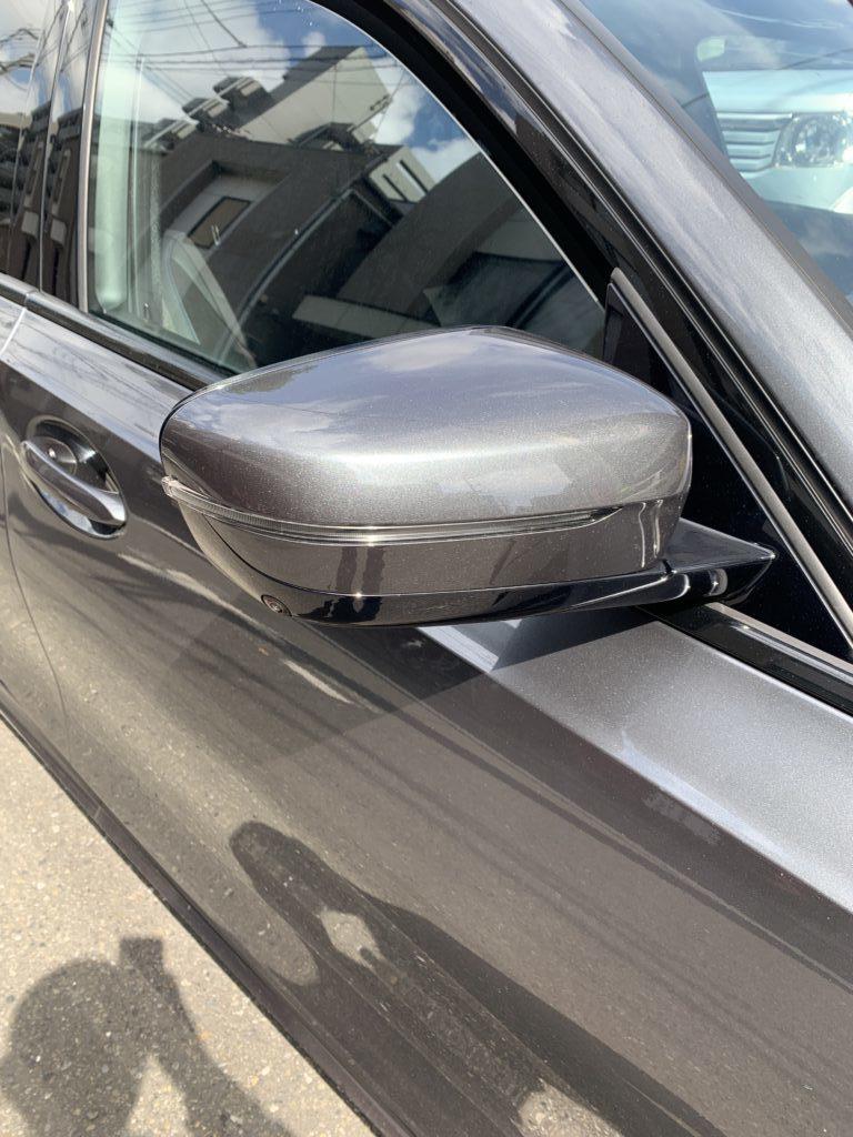 BMW 320dツーリング G20 ミラーカバー塗装