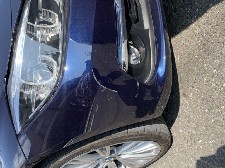 BMW 3シリーズ G20 キズへこみ 板金塗装修理