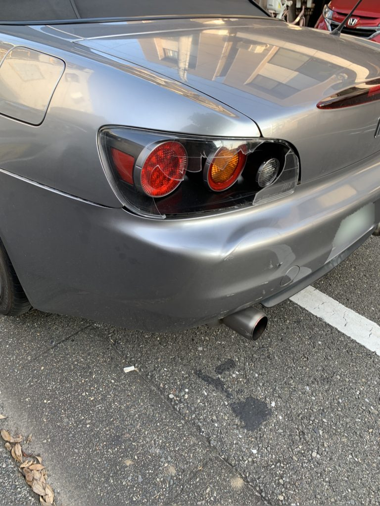 ホンダ S2000 AP1 キズへこみ 板金塗装修理