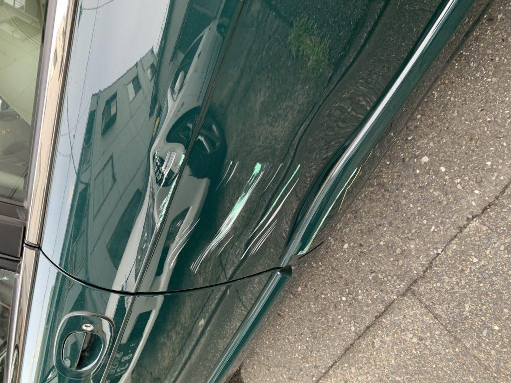 ジャガー XJ6 キズへこみ 板金塗装修理