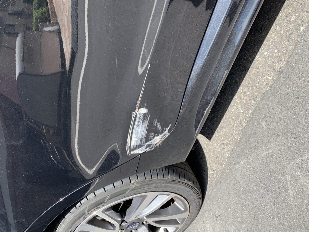 スバル レヴォーグ VM4 キズへこみ 板金塗装