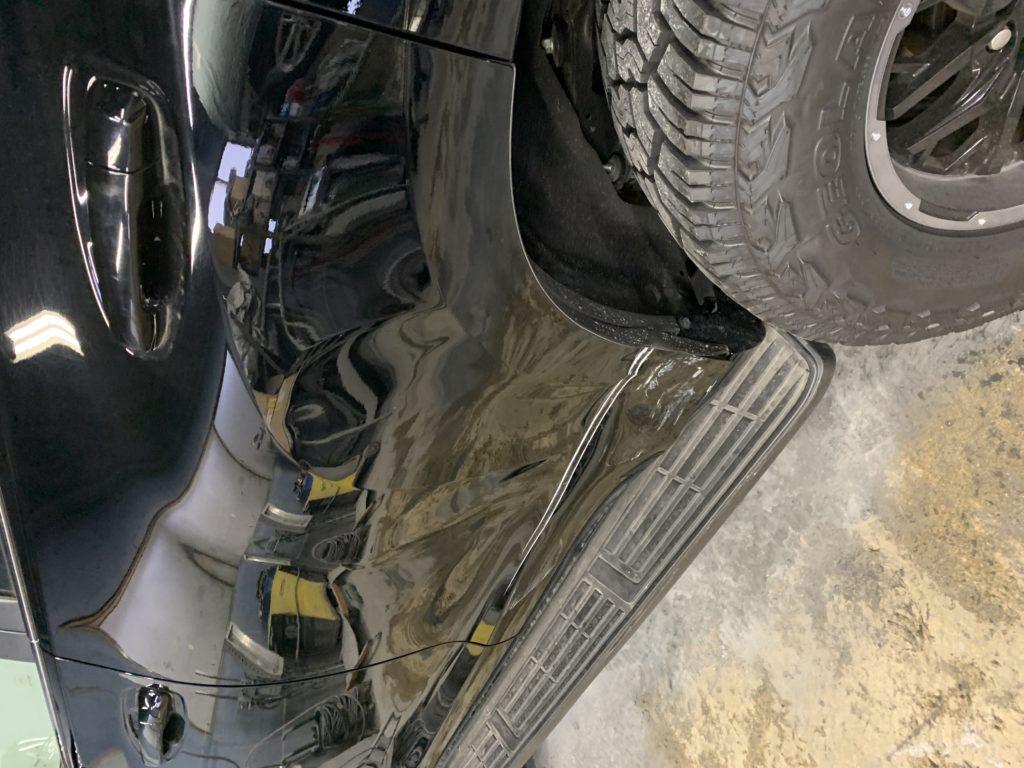 トヨタ ランドクルーザープラド GDJ150W キズへこみ 板金塗装修理