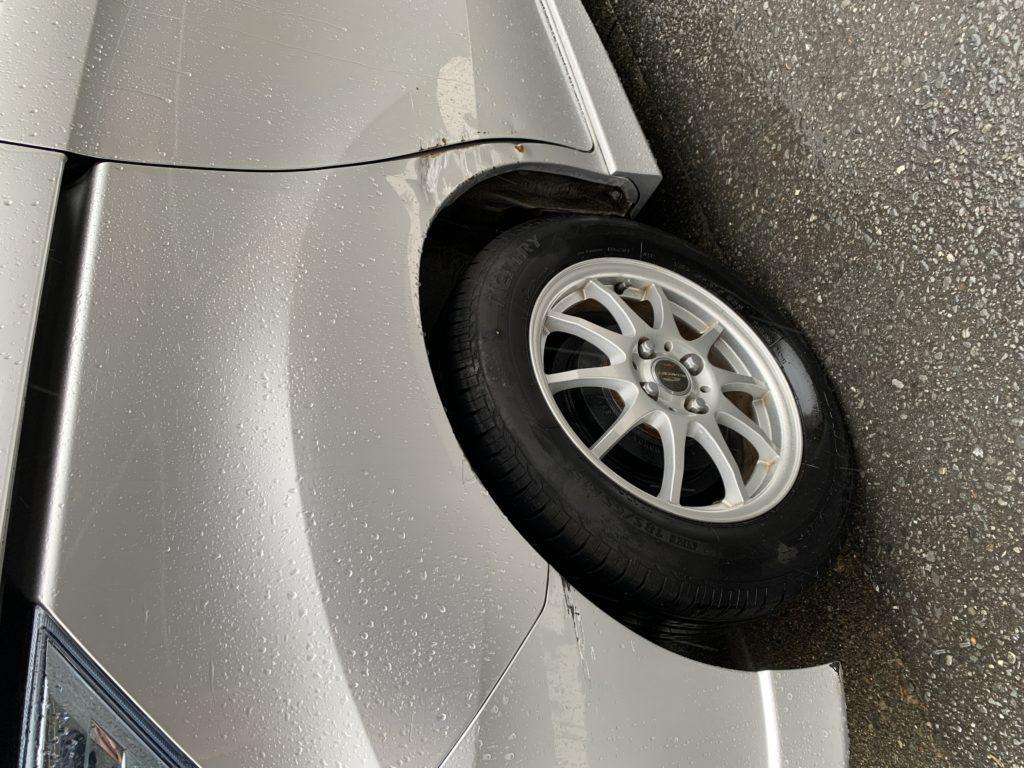 ホンダ フリード GP3 キズへこみ 板金塗装修理