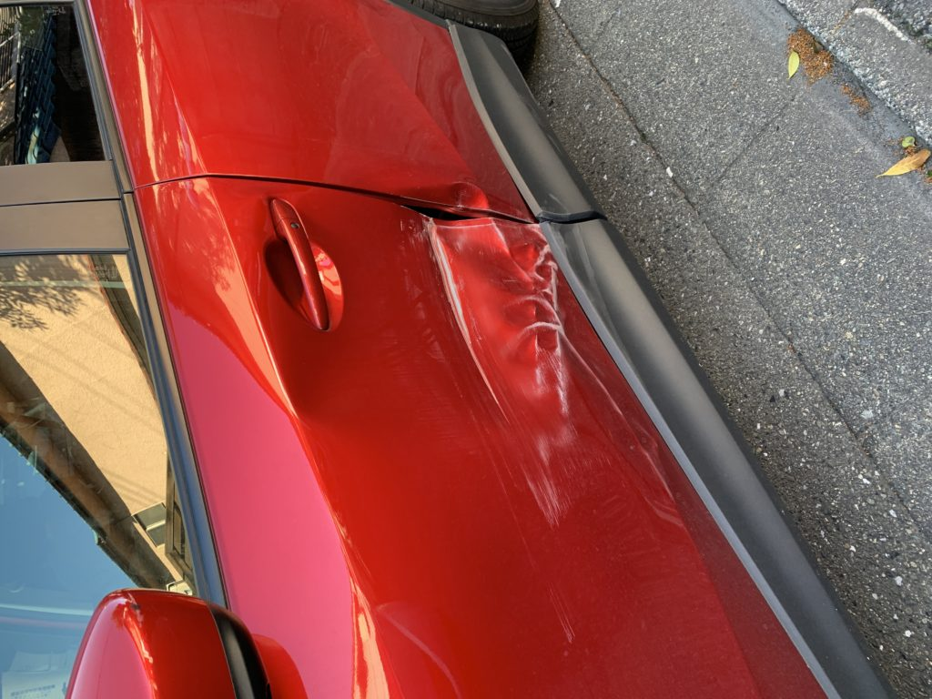 マツダ CX-5 KE2FW キズへこみ 板金塗装交換修理