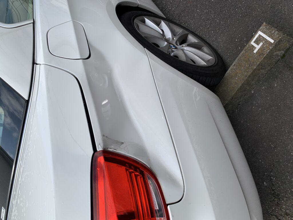 BMW 3シリーズカブリオレ E93 キズへこみ 板金塗装修理